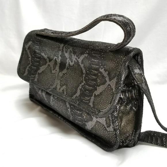 Crystal Ashley Handbags - VTG Crystal Ashley Leather bag